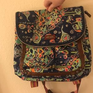 Sakroots crossbody/backpack bag
